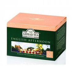 Ahmad English Afternoon - 50ct Bags - Sold Out