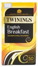 Twinings English Breakfast - 50ct Bags
