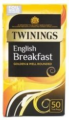 Twinings English Breakfast - 50ct Bags - 2 In Stock