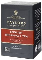 Taylors of Harrogate English Breakfast - 50ct Bags