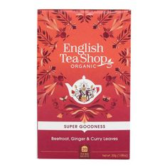 English Tea Shop Beetroot, Ginger & Curry Leaves - 20ct Bags - Sold Out