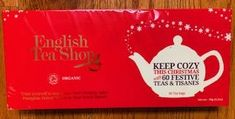 English Tea Shop Festive Collection - 60ct Bags - Sold Out