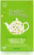 English Tea Shop Organic Green Tea Tropical - 20ct Bags - 2 In Stock
