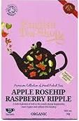 English Tea Shop Organic Apple Rosehip Raspberry Ripple - 20ct Bags - Sold Out