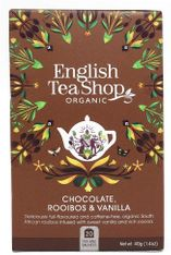 English Tea Shop Chocolate, Rooibos & Vanilla - 20ct Bags - Sold Out