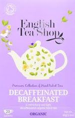English Tea Shop Organic Decaffeinated Breakfast - 20ct Bags - Sold Out