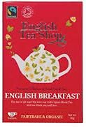 English Tea Shop Organic English Breakfast- 20ct Bags - Sold Out