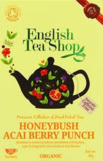 English Tea Shop Organic Honeybush Acai Berry Punch - 20ct Bags - sold out