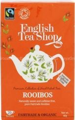 English Tea Shop Organic Rooibos - 20ct Bags - Sold Out