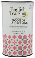English Tea Shop Organic Rooibos Candy Cane - 50ct Bags - Sold Out