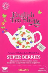 English Tea Shop Organic Super Berries - 20ct Bags - Sold Out