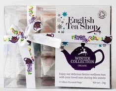 English Tea Shop Organic Winter Collection - 12ct Bags - Sold Out 2020