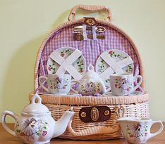 Fairy Tea Set - 1 In Stock