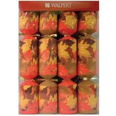 Walpert - Fall Leaves Holiday Crackers