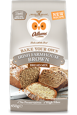 Odlums Irish Farmhouse Brown Bread Mix - 450g