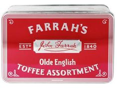 Farrah's Olde English Toffee Assortment Tin - 227g -  Sold Out