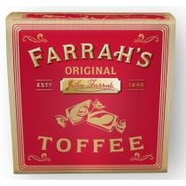 Farrah's Original Toffee Box - 100g - Sold Out