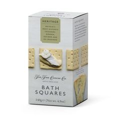 The Fine Cheese Co. Bath Squares - 140g - 2 In Stock