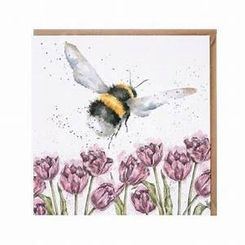 'Flight of the Bumblebee' Card - 5 In Stock