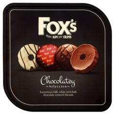 Fox's Chocolatey Selection Biscuit Tin - 365g - Sold Out