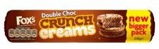 Fox's Crunch Creams Double Chocolate - 230g  - Sold Out