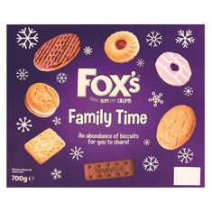 Fox's Family Time Box - 660g -Sold Out