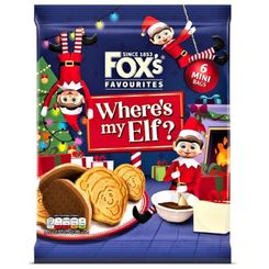 Fox's Favourites Where's my Elf - 132g - Sold Out