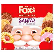 Fox's Favourites Santa's Biscuit Selection - 365g - Sold Out