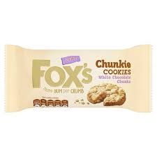 Fox's Chunkie Cookies White Chocolate - 180g - Sold Out