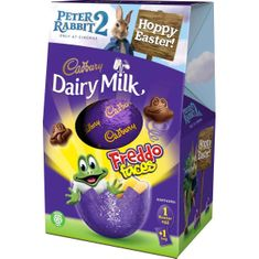 Dairy Milk Freddo Faces Medium Egg - 122g - Sold Out 2021