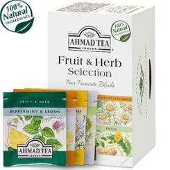 Ahmad Fruit & Herb Selection - 20ct Bags - BB December 2020
