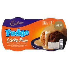 Cadbury Fudge Sticky Puds - 190g - Sold Out