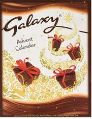 Galaxy Advent Calendar - 110g - Sold Out