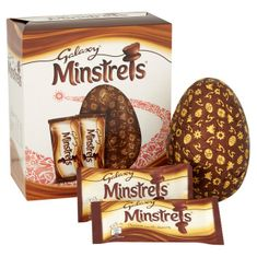 Galaxy Minstrels Egg - 262g - Sold Out