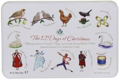 Gardiner's 12 Days of Christmas Tin - 500g - Not Available 2019