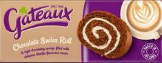 Gateaux Chocolate Swiss Roll - 195g
