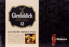 Walkers 6 Glenfiddich Mince Pies - 372g - Sold Out
