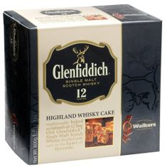 Walkers 12 Year Glenfiddich Highland Whiskey Cake - 400g - Sold Out 2020