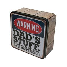 Grandma Wild's Dad's Stuff Biscuit Tin - 160g - Sold Out
