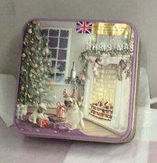 Grandma Wild's Pugs by the Fire Shortbread Tin - 160g - Sold Out