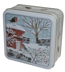 Grandma Wild's Robins in Winter Biscuit Tin - 160g - Sold Out
