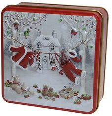Grandma Wild's Santa's Washing Line Biscuit Tin - 100g - Sold Out 2020
