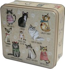 Grandma Wilds Embossed Cats in Jumpers Tin 160g  - Sold Out