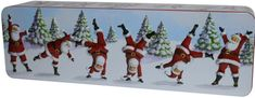 Grandma Wilds Embossed Dancing Santa Tin 200g - Sold Out