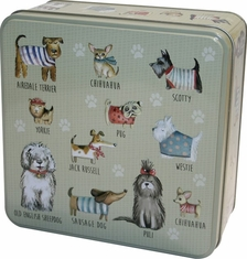 Grandma Wilds Embossed Dogs in Jumpers Tin - 160g - Sold Out