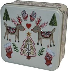 Grandma Wilds Embossed Two Festive Reindeer Tin 160g  - Sold Out 2020