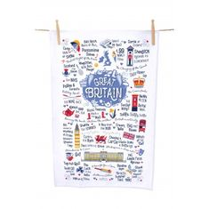 Great Britain Tea Towel - Sold Out