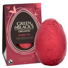 Green & Black's Organic Dark Chocolate Egg - 165g - Sold Out 2021