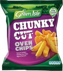 Green Isle Chunky Cut Oven Chips - Sold Out