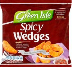 Green Isle Spicy Wedges - 600g